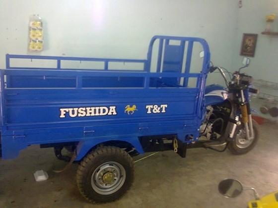 xe lôi ba bánh fushida