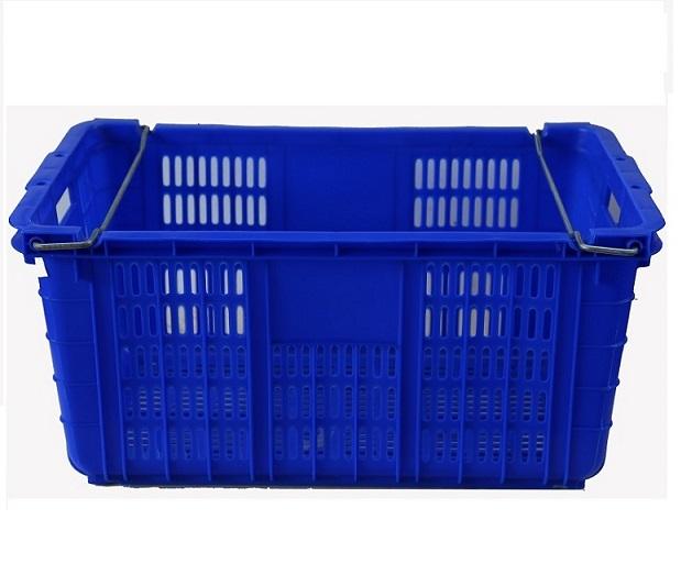 thùng nhưa hở vn05-hl, sóng nhựa có quai 715x465x330mm