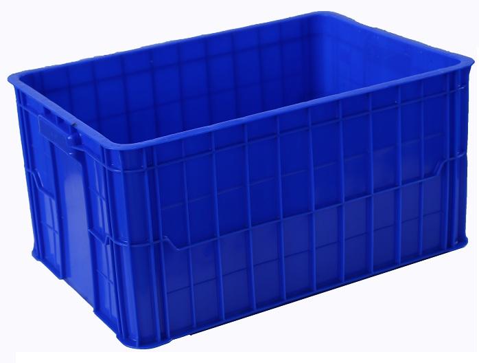 thùng nhựa đặc 61x42x39cm, sóng nhựa bít