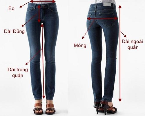 Cách tự đo size quần áo mỗi khi đi mua hàng qua mạng