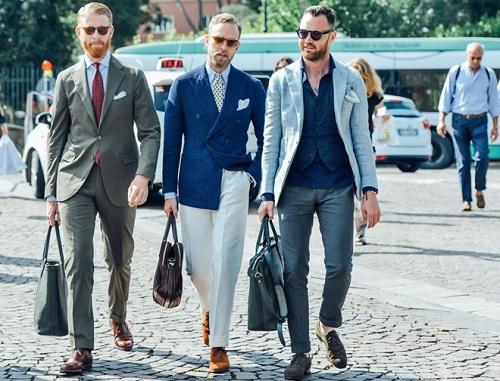 Màu sắc trang phục như thế nào phù hợp với quý ông