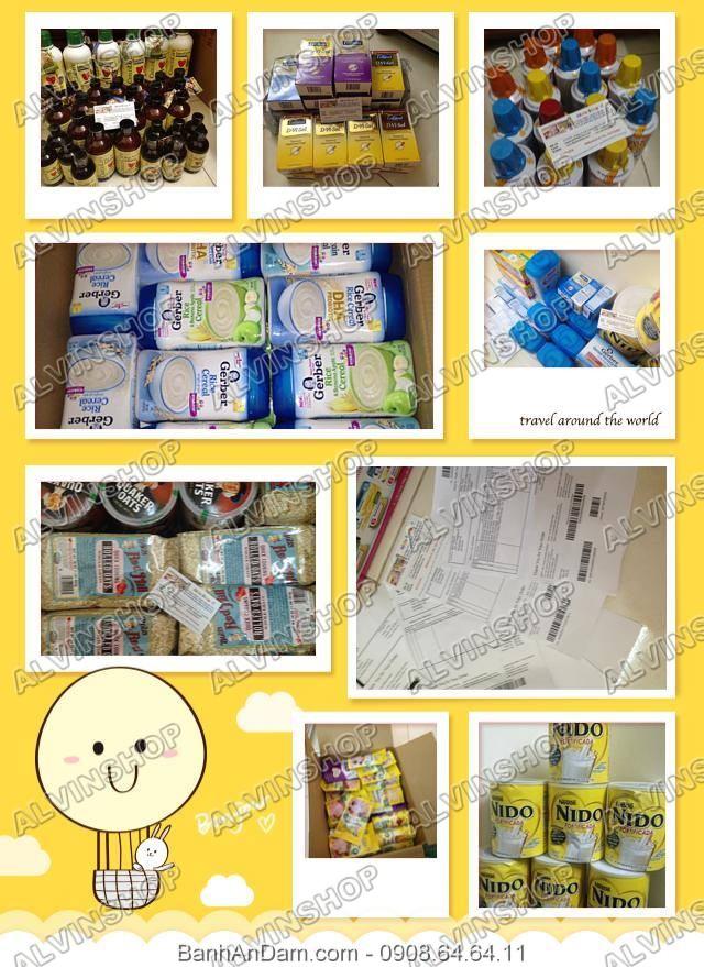 alvinshop _ chuyên cung cấp thực phẩm ăn dặm từ Mỹ cho bé
