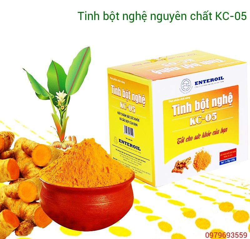 Nanocurcumin tinh chất nghệ vàng, bột tinh nghệ vang nguyên chất