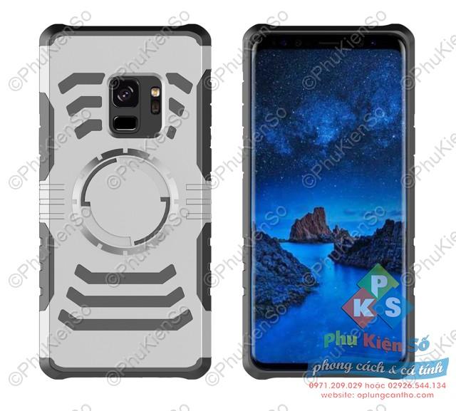 Ốp lưng chống sốc 2 lớp IRON-MAN cho Samsung S9 Plus