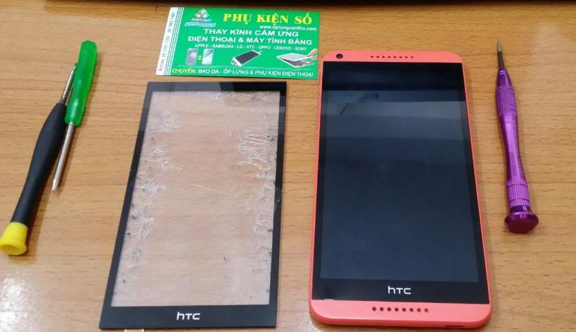 Thay ép mặt kính màn hình cảm ứng HTC Desire 816 tại Cần Thơ