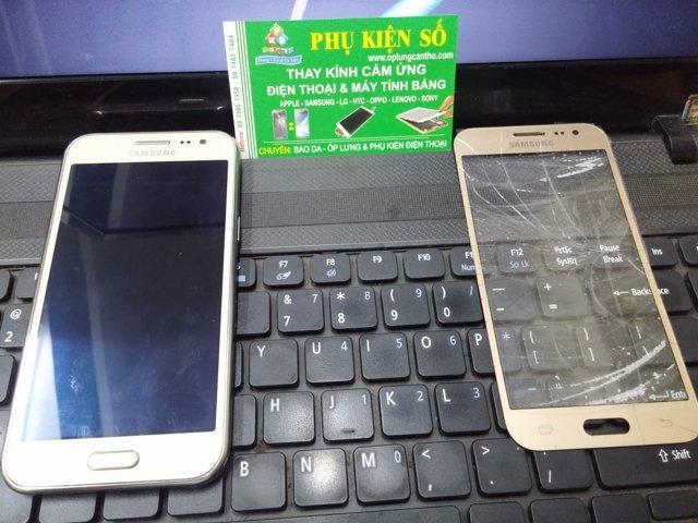 thay ép mặt kính cảm ứng màn hình Samsung Galaxy J2