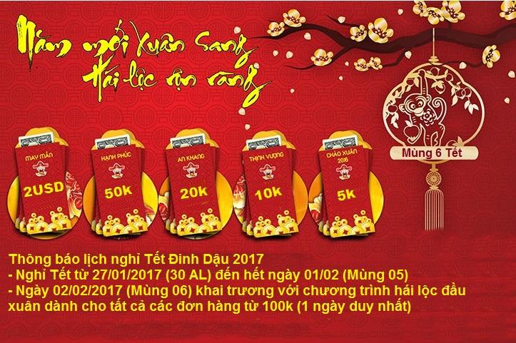 Phụ Kiện Số - Hái lộc đầu xuân Đinh Dậu 2017