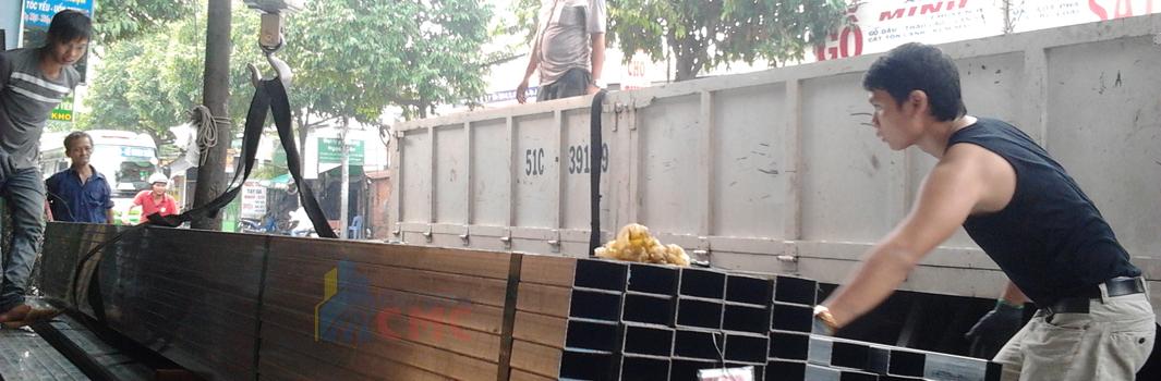 Thép hộp xây dựng - Sài Gòn CMC