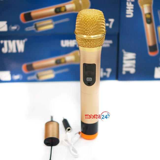 micro không dây chính hãng hát karaoke JMW I7