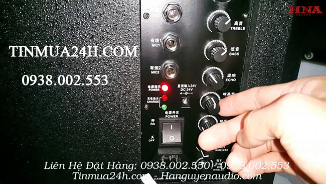 Cách chỉnh âm thanh cho loa kéo