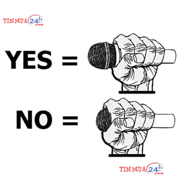 cầm mic đúng cách