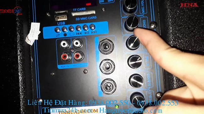 Cách chỉnh âm cho loa kéo