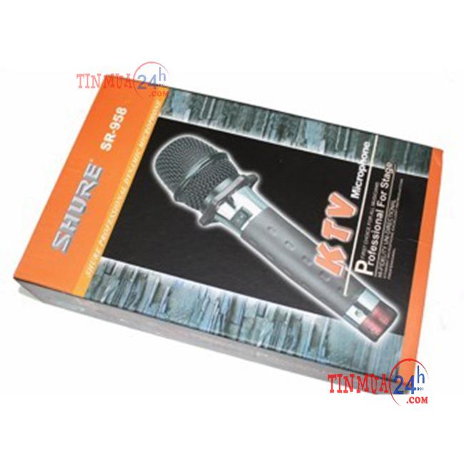 Hộp đựng Micro có dây Shuri SR-958