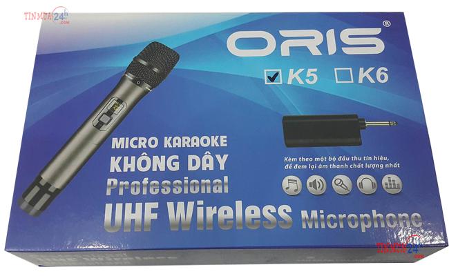 Hộp Micro Không Dây Đầu Thu Oris K5