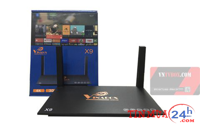 Androi TV VinaBox X9 Cao Cấp