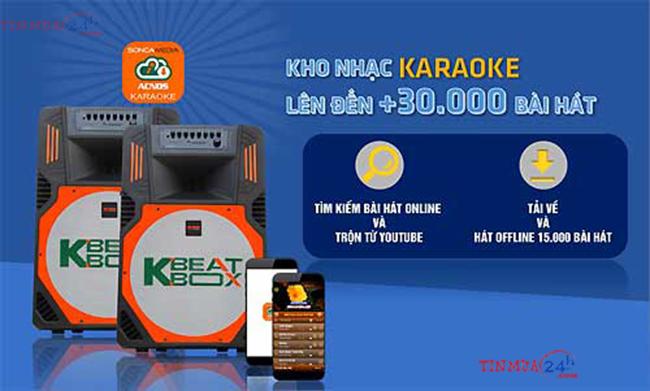 Dan karaoke 5 trong 1