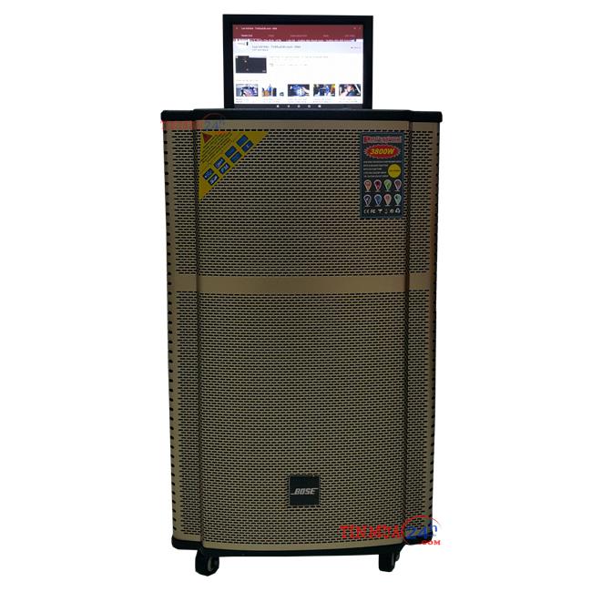 Loa kéo karaoke di động tích hợp màn hình Bose KT-9915
