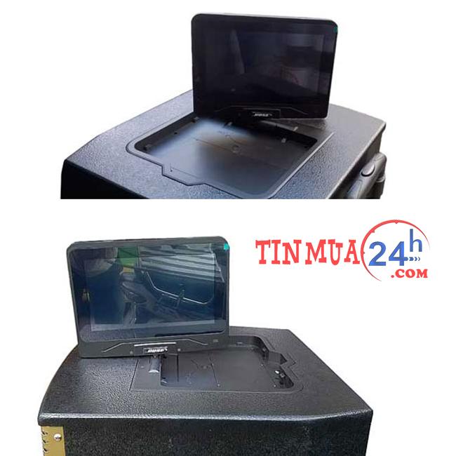loa vali kéo tích hợp màn hình