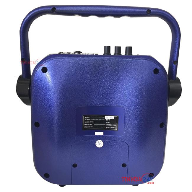 Mặt sau Loa Di Động Bluetooth VSP SA-852