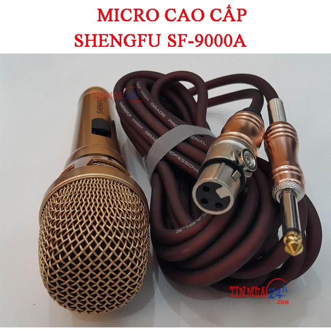 Micro Có Dây Cao Cấp SHENGFU SF-9000A