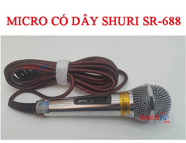 Micro Có Dây Shuri SR-688