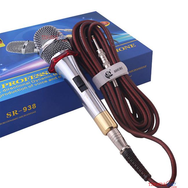 Micro có dây Shuri SR-938