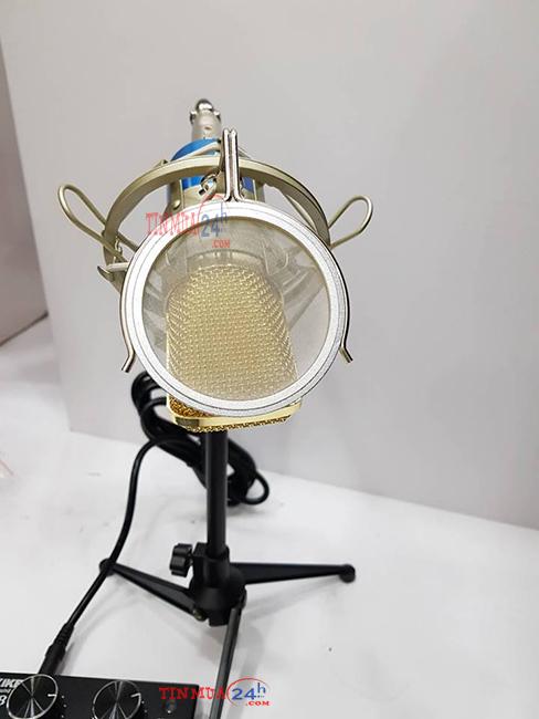 Micro Livestream SNQiSY MS800 - Soundcard V8
