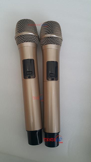 Micro Loa Kéo Karaoke Cao Cấp HNA 8018