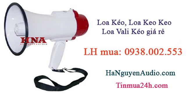 Cho thue loa keo Sai Gon gia re
