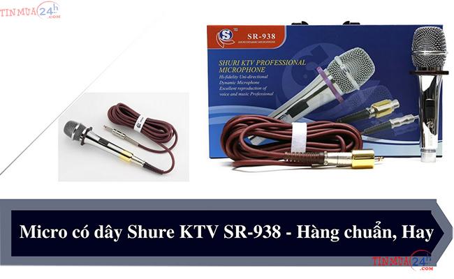 Micro có dây Shuri SR-938 giá rẻ