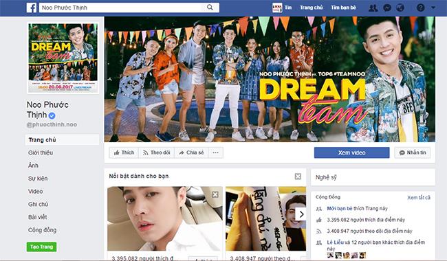 Fanpage Noo Phước Thịnh