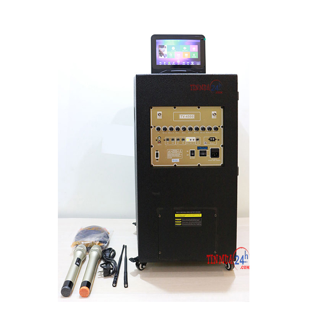 Mặt sau Loa Kéo Di Động Tích Hợp Màn Hình Bose TV 4500