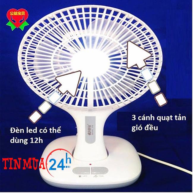 Quạt Bàn Mini chạy điện giá rẻ KM – F0166