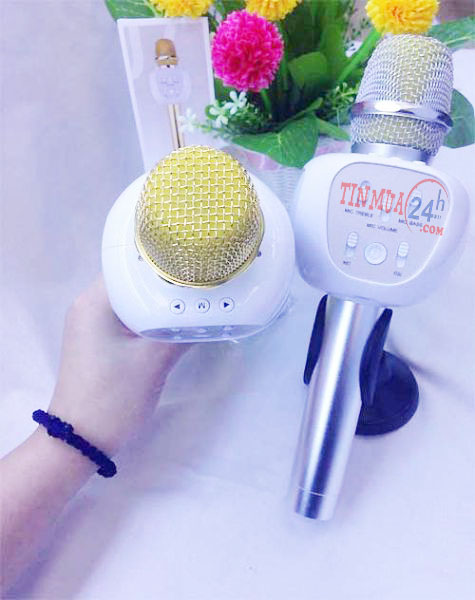 micro kèm loa karaoke bluetooth YHSJ-007, micro kèm loaYHSJ-007, micro karaoke bluetooth YHSJ-007