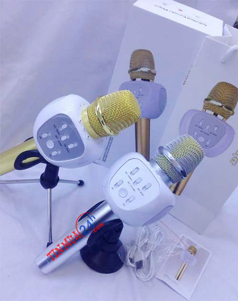 micro kèm loa karaoke bluetooth YHSJ-007, micro kèm loa 3 trong 1 YHSJ-007, micro3 trong 1 karaoke bluetooth YHSJ-007