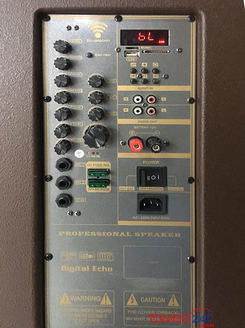 Bảng mạch Loa Kéo Di Động Bose DK-815
