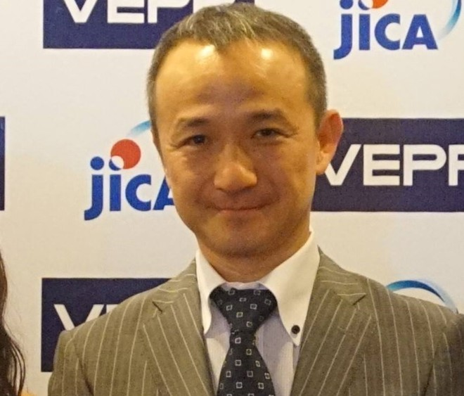 Ông Okiura Fumihiko, Phó trưởng đại diện Cơ quan Hợp tác Quốc tế Nhật Bản (JICA) tại Việt Nam. Ảnh: VEPR.