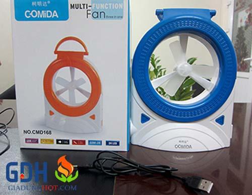 Quạt tích điện mini Comida