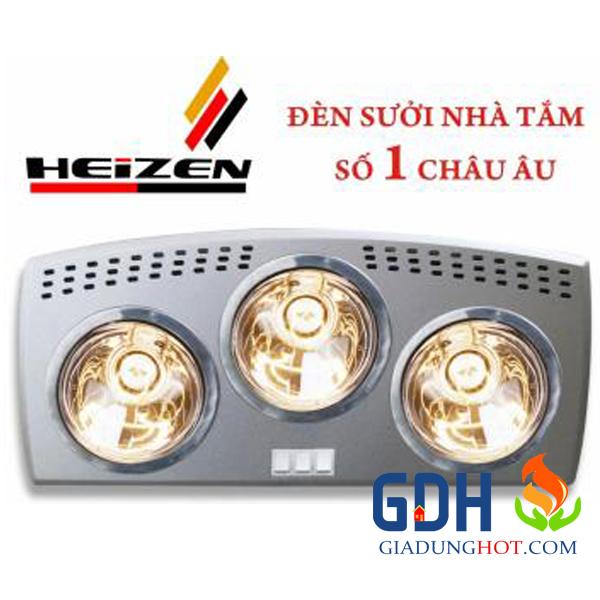Đèn sưởi 3 bóng Hans Đức HE3B176