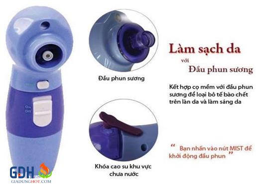 máy hút mụn massage mặt