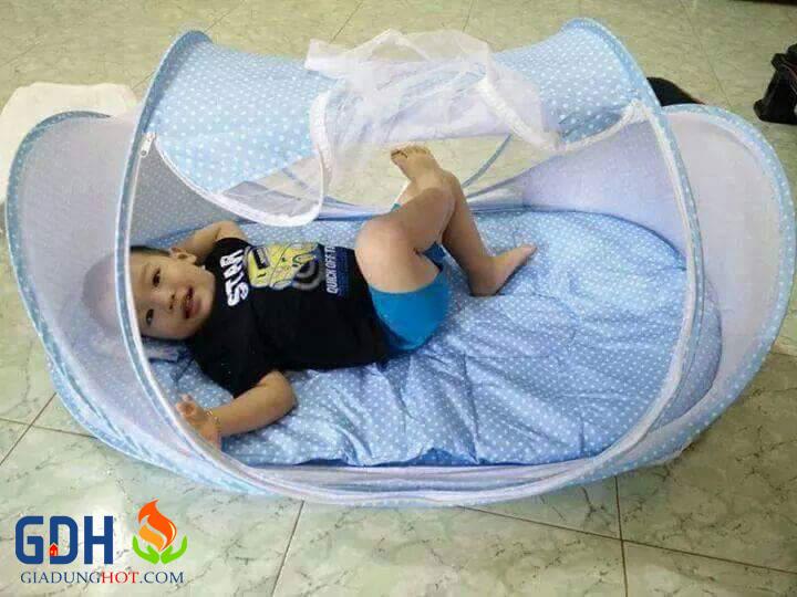 mùng chống muỗi cho bé