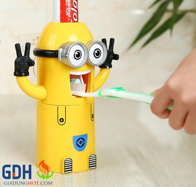 Hộp nặn kem đánh răng Minions