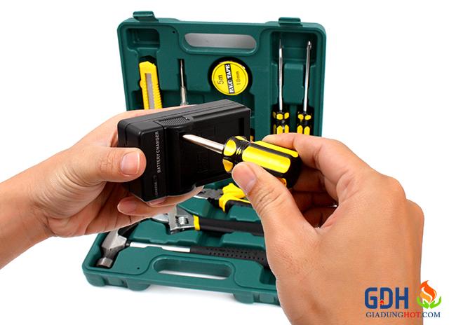 Hộp dụng cụ sửa chữa đa năng 12 món f