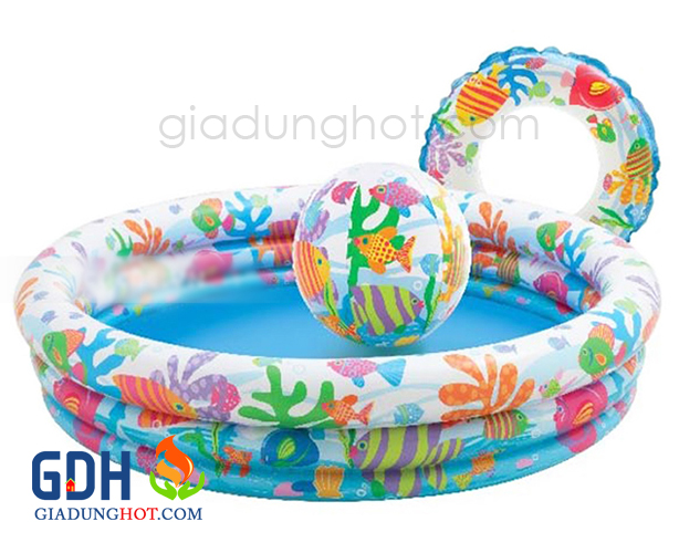 Bể bơi bằng hơi cho bé 1