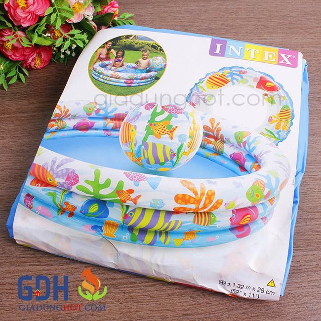 Bể bơi bằng hơi cho bé 5