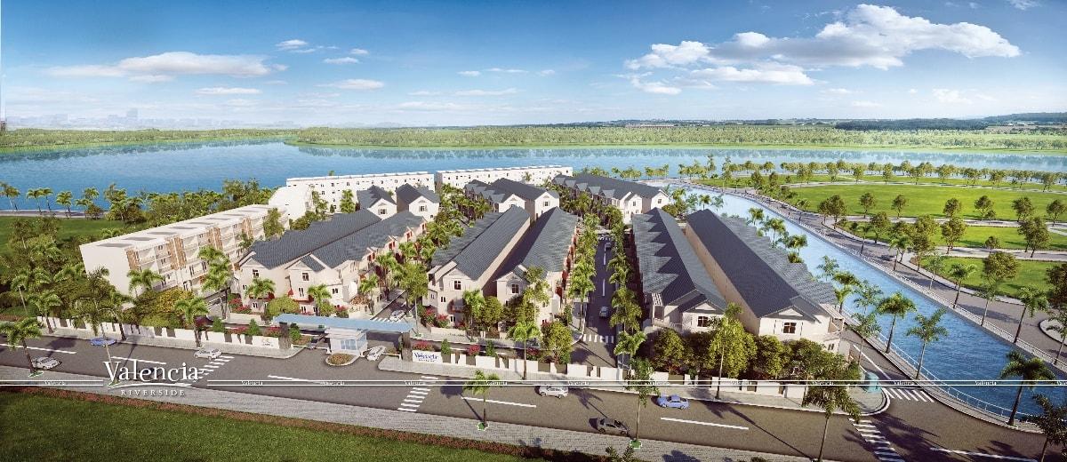 dự án valencia riverside tân cảng quận 9
