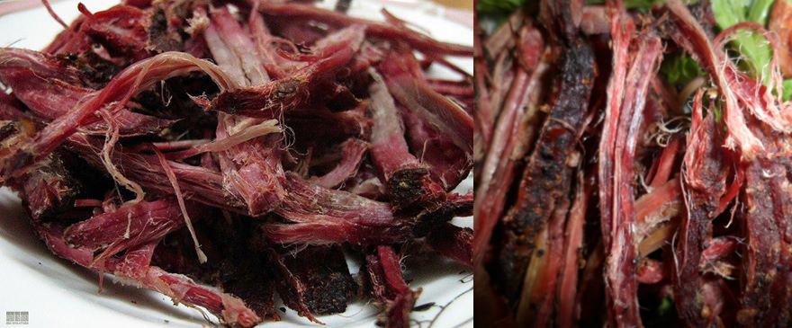 thịt trâu khô