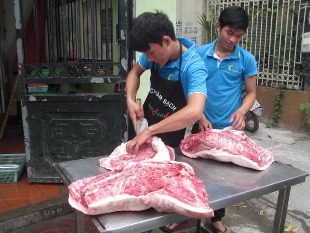 thịt lợn ngon