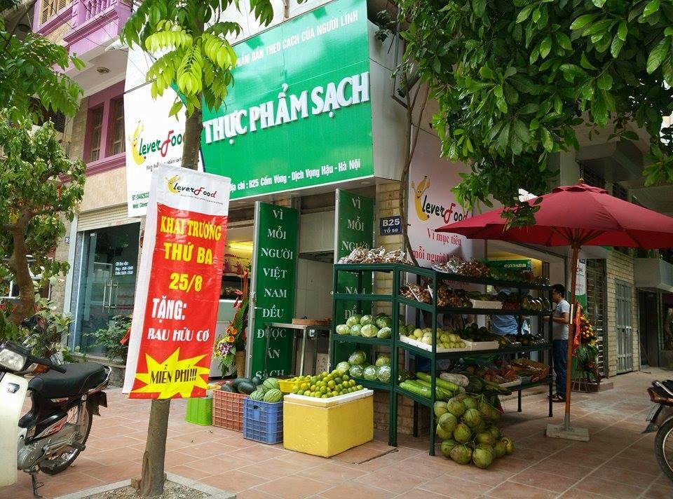 cửa hàng thực phẩm sạch Duy Tân