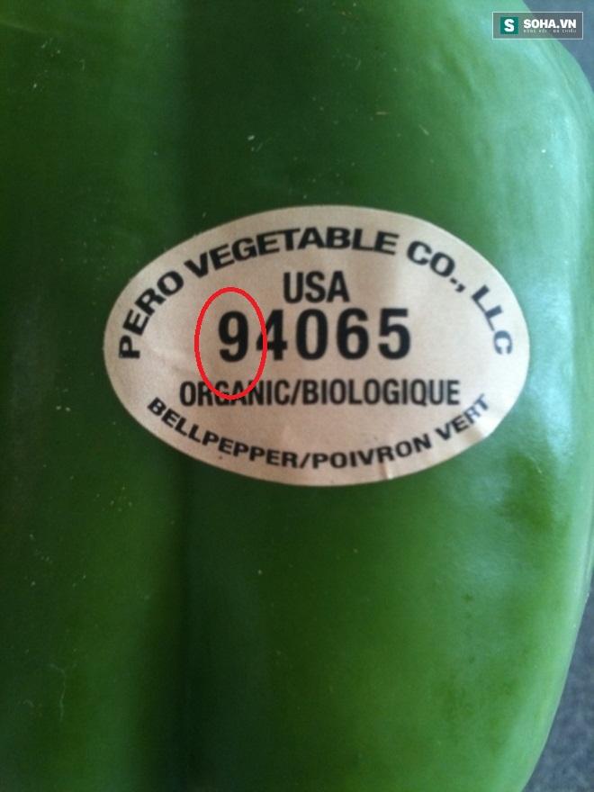 Ý nghĩa của các con số trên tem dán hoa quả nhập khẩu, táo hữu cơ